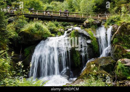 Triberger Wasserfälle, Schwarzwald, Deutschland - Stockfoto