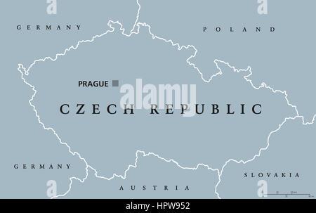 Binnenstaat In Mitteleuropa