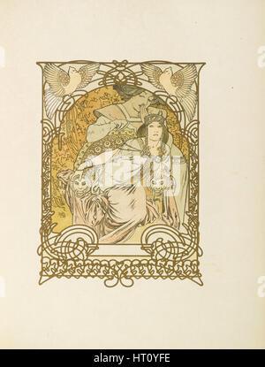 Ilsée, Princesse de Tripoli von Robert de Flers, 1897. Künstler: Mucha, Alfons Marie (1860-1939) - Stockfoto