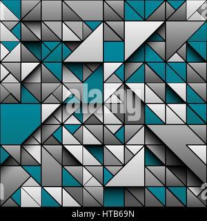 vektor geometrische abstrakte 3d dreiecke stockfoto bild 169593333 alamy. Black Bedroom Furniture Sets. Home Design Ideas