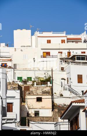 Kleine Stadt Puerto De Mogan im Süden von Gran Canaria spanische Insel, die schönste Stadt auf der Insel mit geringsten - Stockfoto
