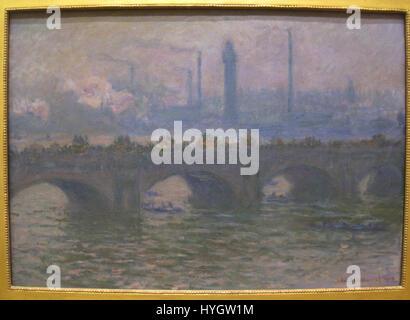 Waterloo Bridge, 1903, von Claude Monet (1840 1926) IMG 7175 - Stockfoto