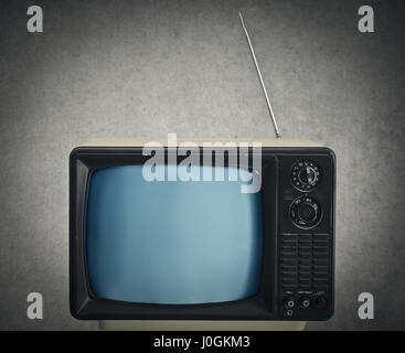 Alte Tv im Zimmer - Stockfoto