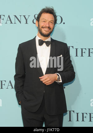 New York, NY, USA. 21. April 2017. Dominic West besucht Tiffany & Co Celebrates 2017 Blue Book Sammlung in ST. Annen - Stockfoto