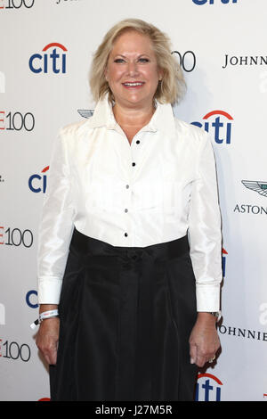 New York, USA. 25. April 2017. Leslie Doty besucht die Time 100 Gala in Frederick P. Rose Hall am 25. April 2017 - Stockfoto