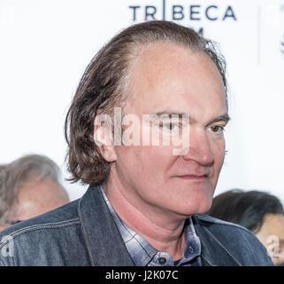 New York, USA. 28. April 2017. Quentin Tarantino besucht 25. Jahrestag Retrospektive Screening von Reservoir Dogs - Stockfoto