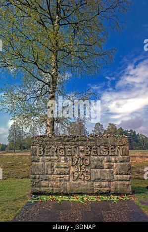 KZ Bergen-Belsen - Stockfoto