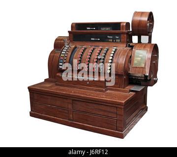 Holz Antik Vintage Fülle wertvoller Altertuemlich getragen veraltet anachronistisch - Stockfoto