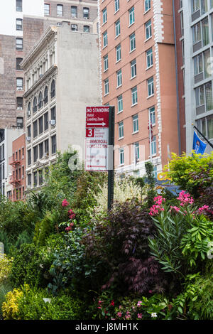 Flower District, W. 28th Street, NYC, USA - Stockfoto