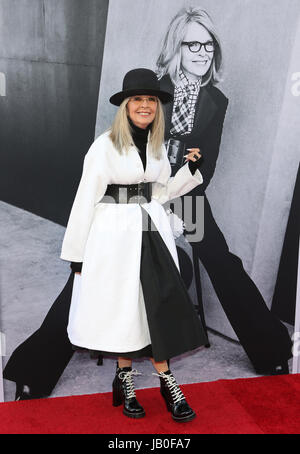 Hollywood, Ca, USA. 8. Juni 2017. Diane Keaton in das American Film Institute Gala zu Ehren Diane Keaton mit dem - Stockfoto