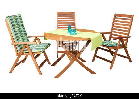 holzst hle und tisch auf bar im freien stockfoto bild 8975330 alamy. Black Bedroom Furniture Sets. Home Design Ideas