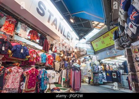 China, Hong Kong, Stanley Market - Stockfoto