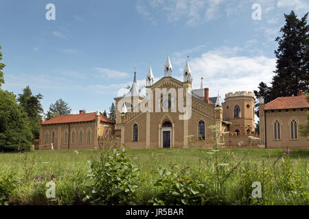 gotisches haus w rlitzer park deutschland stockfoto bild 84365773 alamy. Black Bedroom Furniture Sets. Home Design Ideas