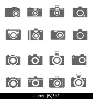 Kamerasymbole Vektor - Stockfoto