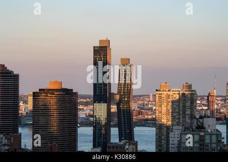 Skyline, New York, USA - Stockfoto