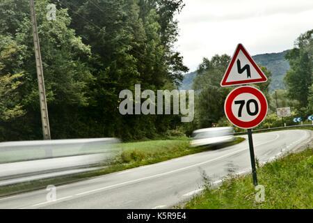 Geschwindigkeitsbegrenzung Lkw