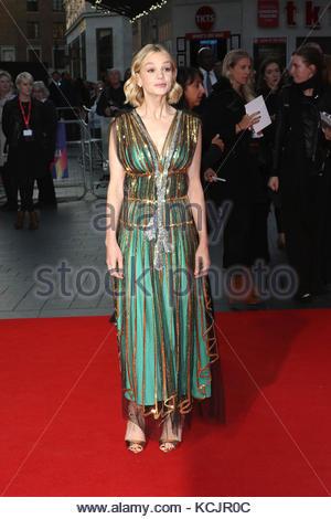 London, Großbritannien. 5. Okt, 2017. Schauspielerin Carey Mulligan die königliche Bank von Kanada Gala & europäische - Stockfoto