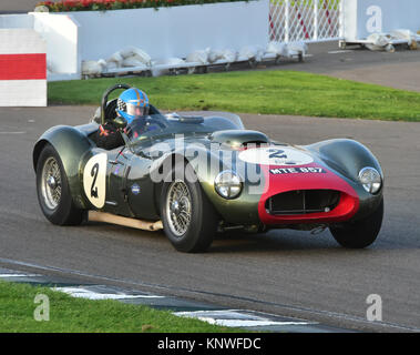 Nick Wigley, Tony Bianchi, Allard-Farrallac, MTE 857, Sussex Trophy Goodwood Revival 2014, Goodwood Revival 2014 - Stockfoto