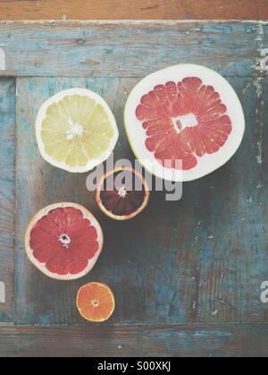 Winter Zitrusfrüchte - Stockfoto