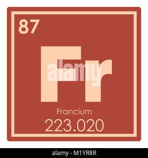 Francio elemento qumico tabla peridica ciencia smbolo foto francio elemento qumico tabla peridica ciencia smbolo foto de stock urtaz Gallery
