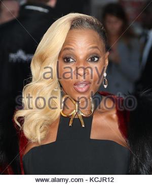 Londres, Royaume-Uni. 5Th oct, 2017. Mary J Blige assiste à la Banque royale du Canada gala & première européenne Banque D'Images
